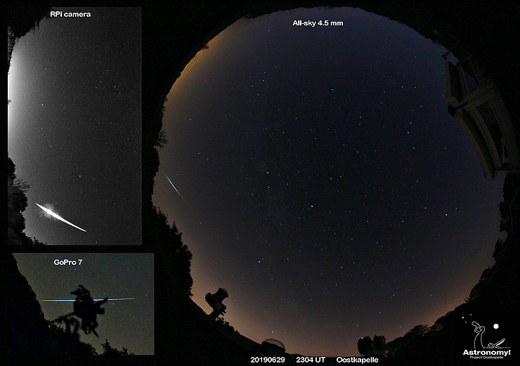 Bright meteors 2019